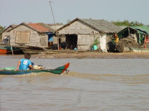 Fot. Bananas & Trips, Jezioro Tonle Sap